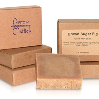 Brown Sugar Fig Goats Milk Soap