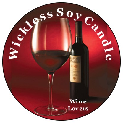 Wine Lovers Wickless Candle