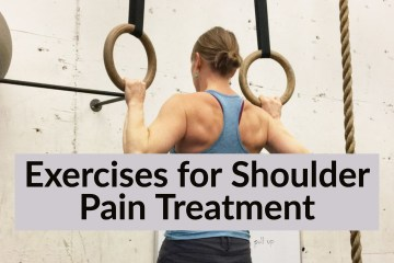 Exercises for Shoulder Pain Treatment