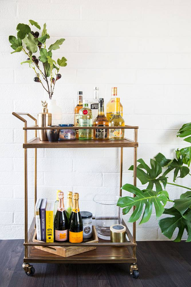 Style your bar cart at the Nordstrom Anniversary Sale!