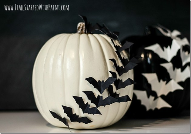 12 No Carve Pumpkins for Halloween