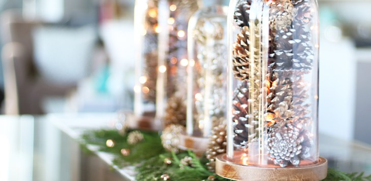 Create your own Christmas Centrepiece