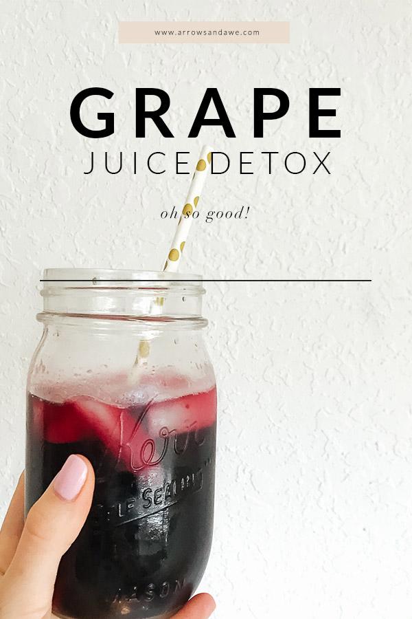 Grape Juice Detox