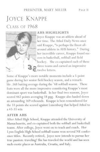 Joyce Knappe
