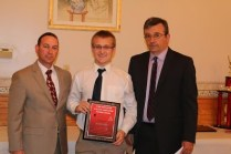 Male Coach's Award Matt Drazek - Football, Indoor Track, Boy's Volleyball