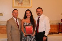 Female Coach's Award Jessica Mann - Girl's Soccer, Indoor Track, Softball
