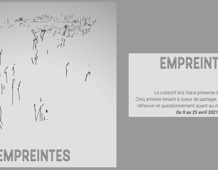 "Expositions ""Empreintes"" Avril 2021"