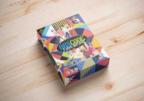 La scatola di Arscode il gioco dell'arte