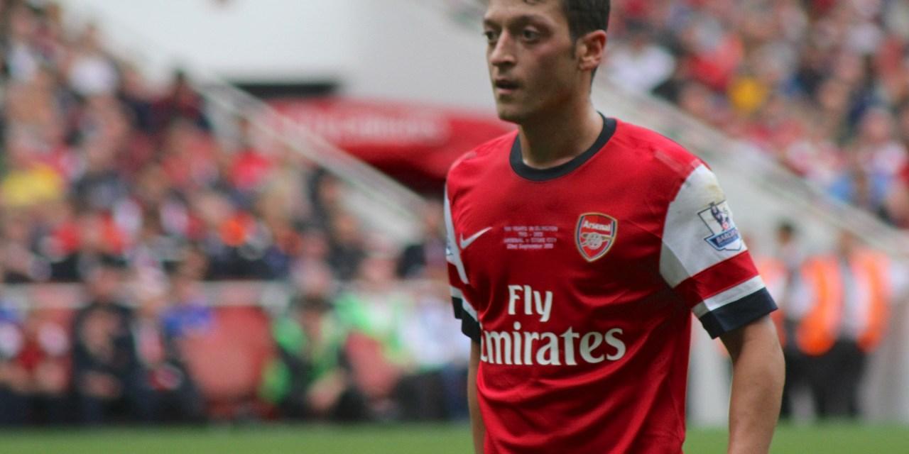 Arsenal fans on Twitter react to Mesut Ozil hat-trick vs Ludogorets