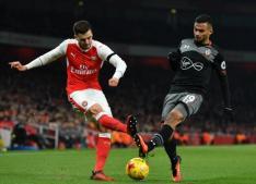EFL Arsenal 0-2 Southampton