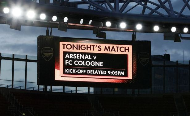Report – Arsenal 3-1 Cologne – Welcome to the Europa League
