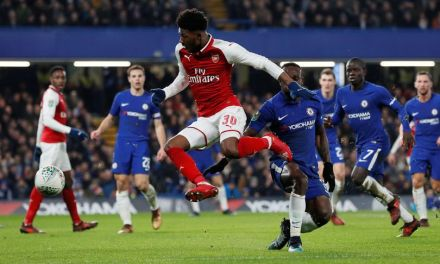 League Cup Semi-Final 1st Leg: Chelsea 0-0 Arsenal