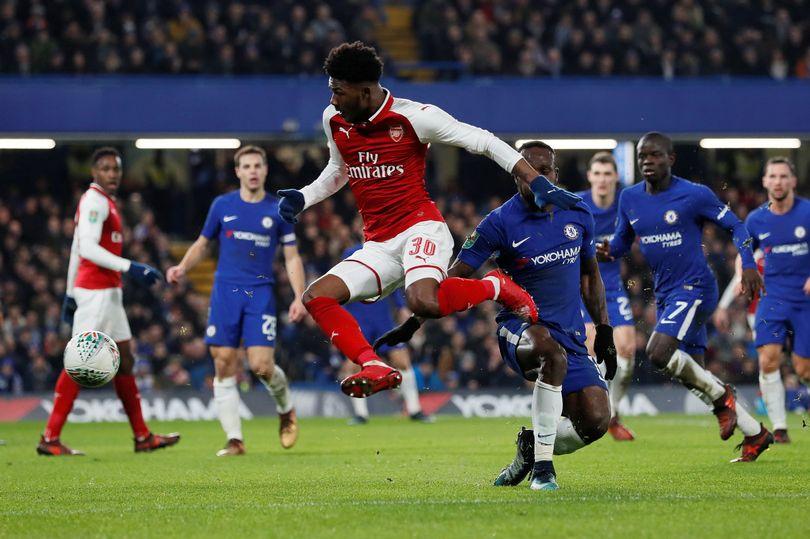 League Cup Semi-Final 1st Leg: Chelsea 0-0 Arsenal