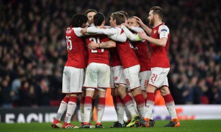 Europa League: Arsenal 3-1 AC Milan (5-1 Agg.)