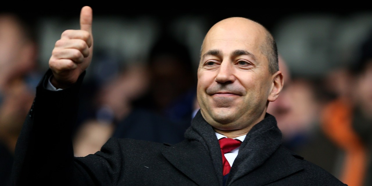 Gazidis leaves the club for pay rise at AC Milan