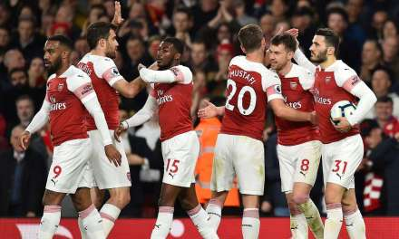 Arsenal 2-0 Newcastle – up to third… for now…