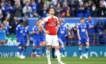 Match Report: Leicester 3-0 Arsenal, utter disgrace