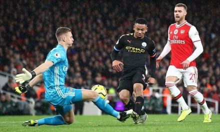 Arsenal 0 – 3 Manchester City – Put to the Sword