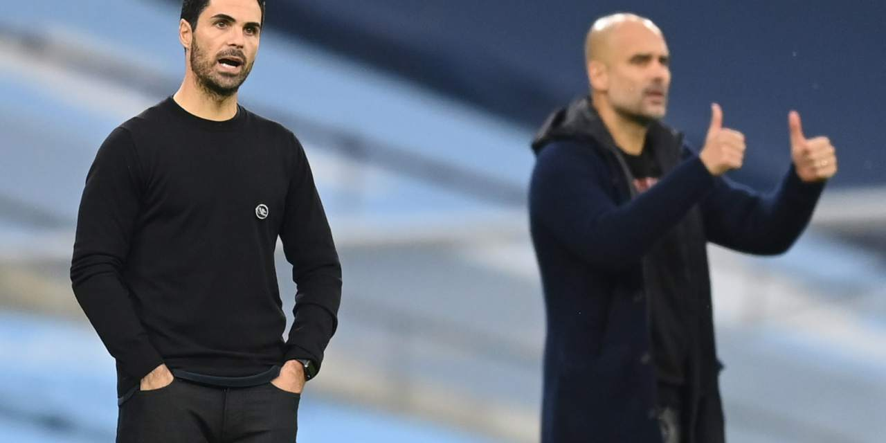 Arteta's Men Unlucky to Lose to City's Slickers