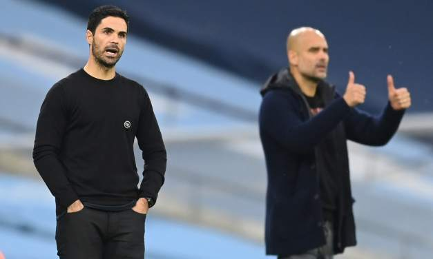 Arteta's Men Unlucky to Lose to City's Slickers