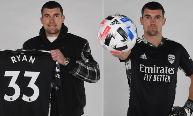 Arsenal Sign Brighton Keeper Mat Ryan on Loan