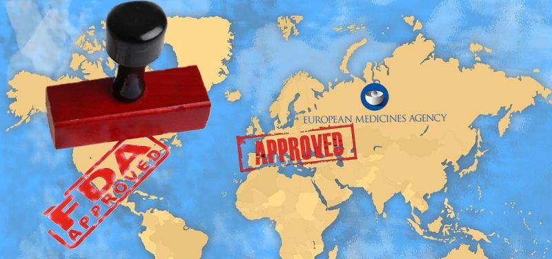 La FDA y la EMA son las principales agencias de medicamentos del mundo