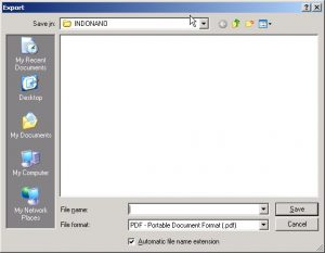Ekspor Dokumen Open Office Menjadi PDF