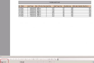 Multi Header/Kop Surat di Open Office Calc
