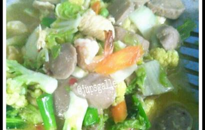 Resep Capcay Kuah Simple