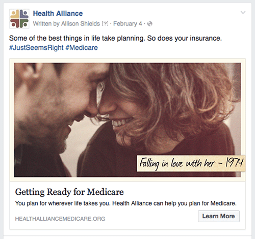 Falling in Love Age-In Ad