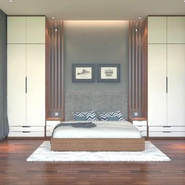 Interior Bedroom Bu Aci di Bintaro