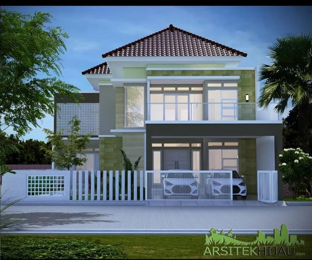 Desain renovasi rumah 2 lantai avril simangunsong