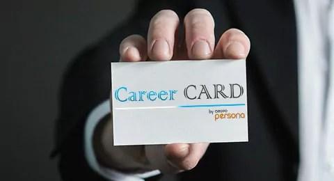 Career Card, mejora tus oportunidades en el mercado de trabajo