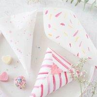 Bunte Herz-Schokolade & DIY Bonbontüten - DIY Geschenke zum Muttertag