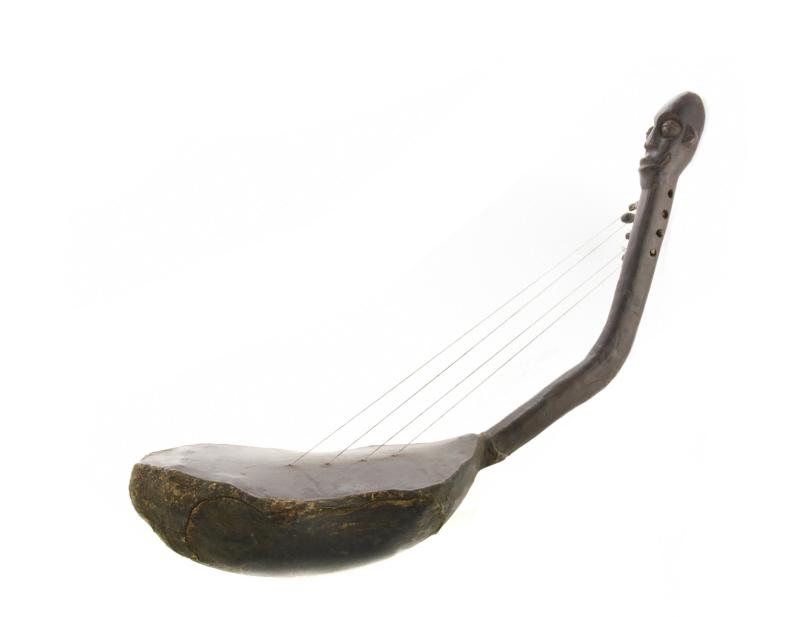 HARPE MANGBETU RD CONGO AFRICAIN Instruments De Musique