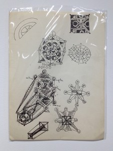 Harry Smith, Lionel Ziprin and Joanne Ziprin, Tree of Life diagrams and related drawings (detail), ca. 1951–55.