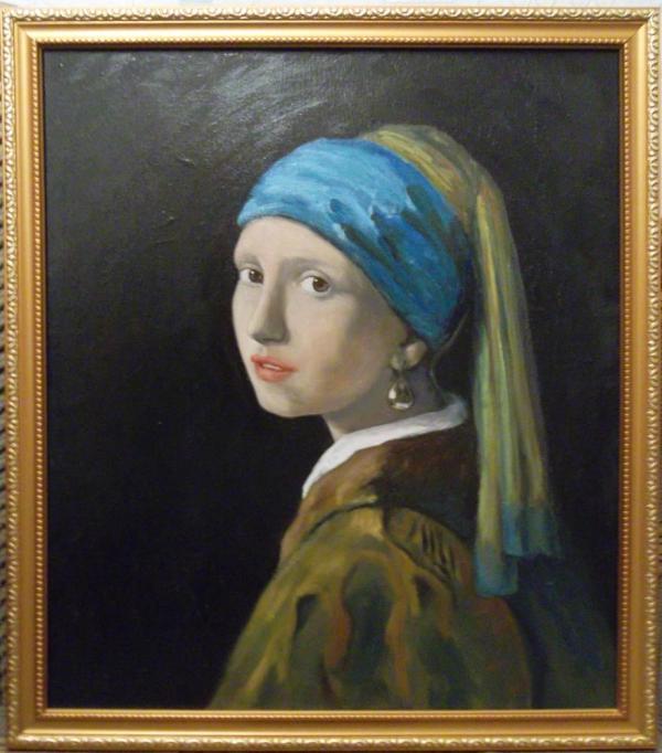 Девушка с жемчужной серёжкой (копия) | Art Bay