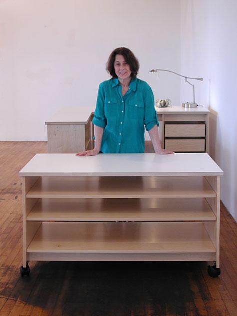 art studio storage furniture with