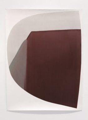 [ 1 1 ] CXVIII 150 x 114 cm, encre sur papier - 2011 Collection agnès b. - Photo Laura Morsch
