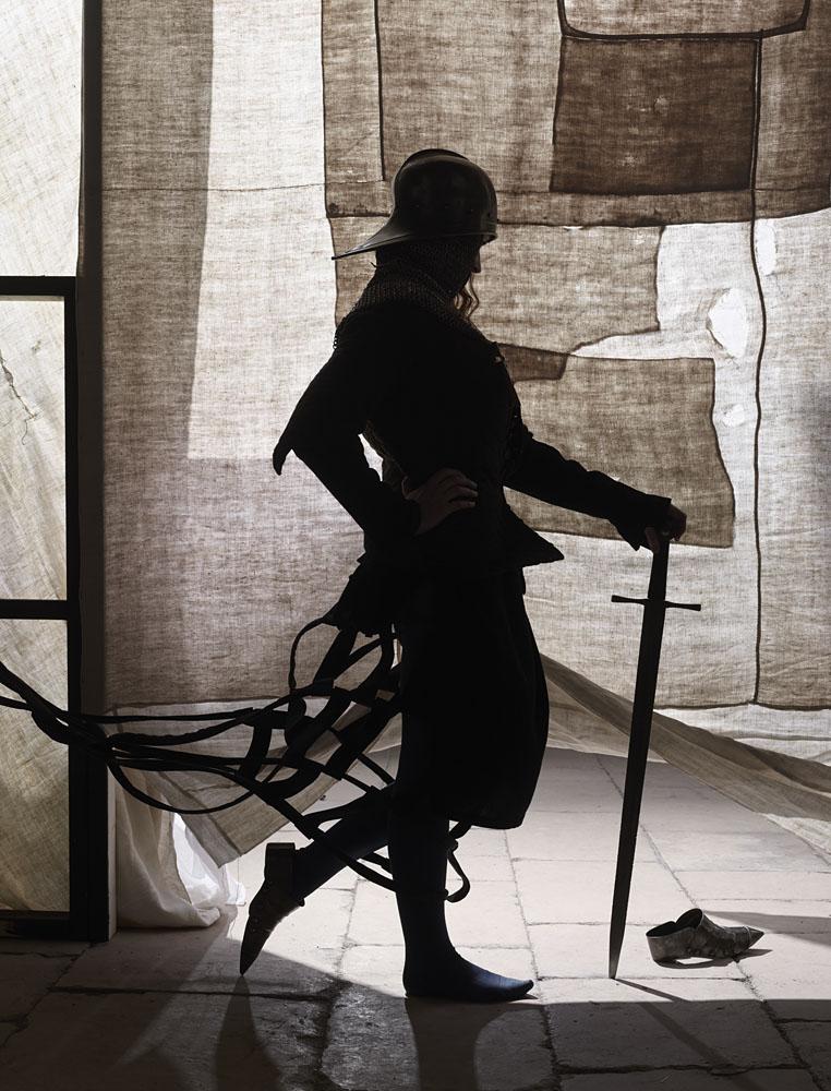 Charles Fréger Jeanne au sacresérie L'Epopée de Jeanne d'Arc, 2016Courtesy de l'artiste Coll. Evelyne Deret
