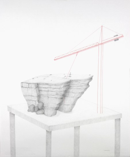 32 - Selmani Massinissa - Maquette # IV - 2015 - 60 x 50 - Ph. Piguet