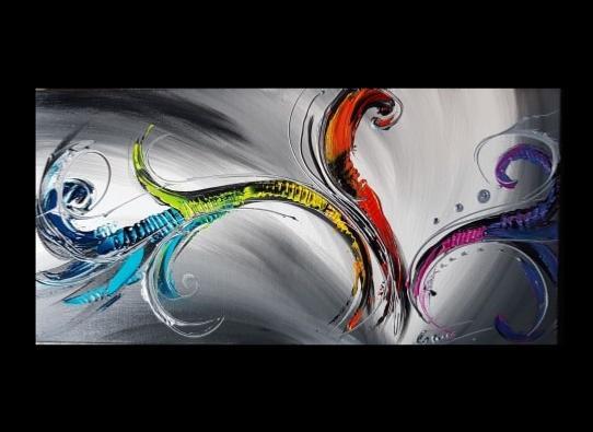 tableau panoramique phoenix colore