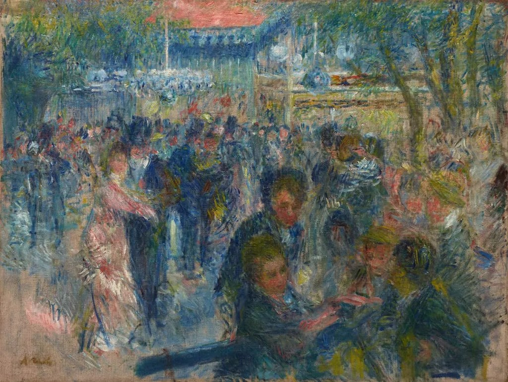 Impressionists painting by Renoir part of Gauguin exhibition