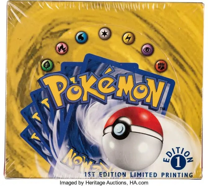 Pokemon cards sold at auction Art World Roundup