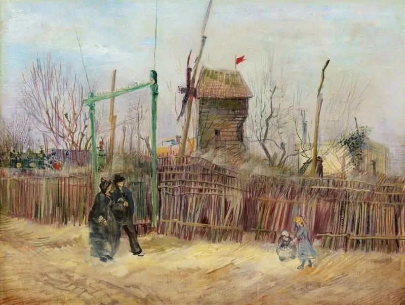 A 19th century view of Montmartre by Vincent van Gogh Art World Roundup