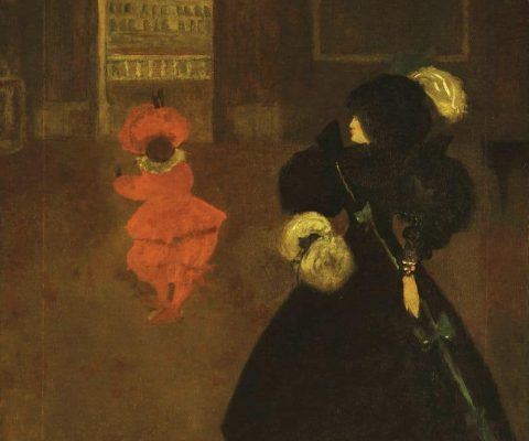 Rare two-sided painting by Aubrey Beardsley on display in Tate Britain exhibition