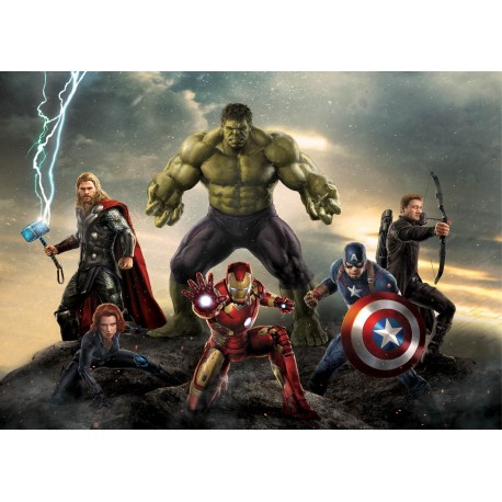 stickers muraux geant avengers art deco stickers