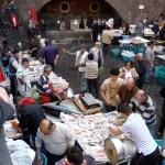 Catane, marché aux poissons 2010