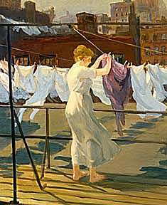 Painting by John Sloan