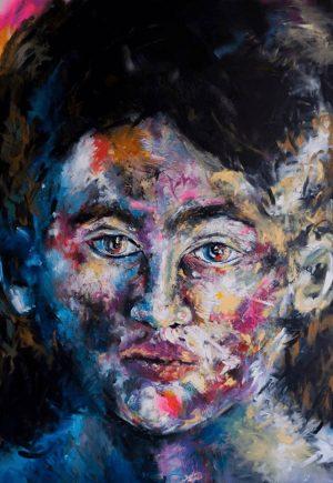Jade Van Der Mark painting